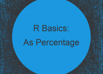 Format Number as Percentage in R (3 Examples) | Express Numeric Values in Percent