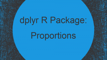 Proportions with dplyr Package in R (Example)   Create Relative Frequency Table