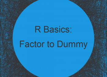 Convert Factor to Dummy Indicator Variables for Every Level in R (Example)