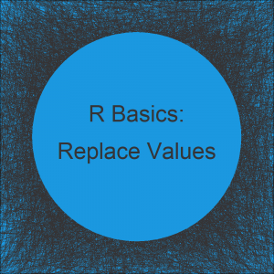Replace Particular Value in Data Frame in R (2 Examples)