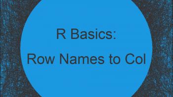 Convert Row Names into Column of Data Frame in R (Example)