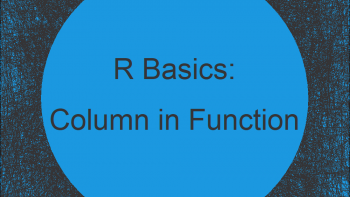 Pass Data Frame Column Name to Function in R (Example)