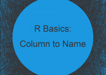 Convert Values in Column into Row Names of Data Frame in R (Example)