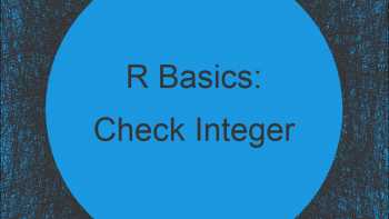 Check if Number is Integer in R (3 Examples)