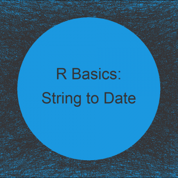 Convert Character String to Date Object in R (Example)