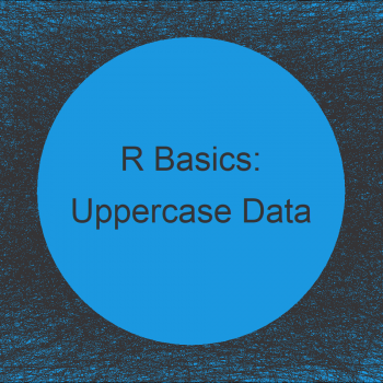 Convert All Character String Variables in Data Frame to Uppercase in R (Example)