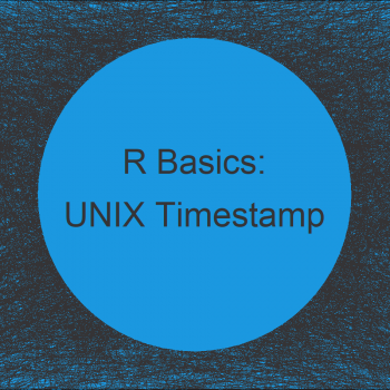 Convert UNIX Timestamp to Date Object in R (2 Examples)