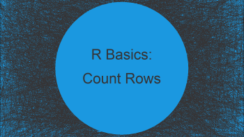 Count Number of Rows by Group Using dplyr Package in R (Example)