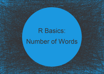 Count Number of Words in Character String in R (Example)