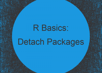 Detach All User-Installed Packages in R (Example)