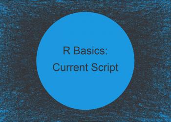 Determine Path of Current Script in R (Example)