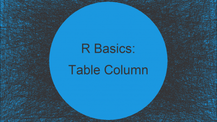 Extract data.table Column as Vector Using Index Position in R (Example)