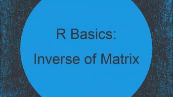 Inverse of Matrix in R (Example)