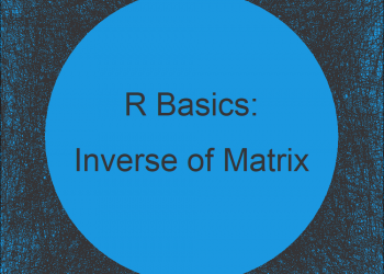 Inverse of Matrix in R (Example)