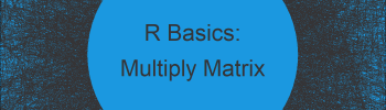 Multiply Rows of Matrix by Vector in R (Example)