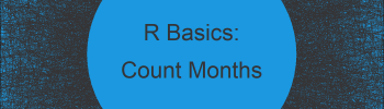 Number of Months Between Two Dates in R (Example)