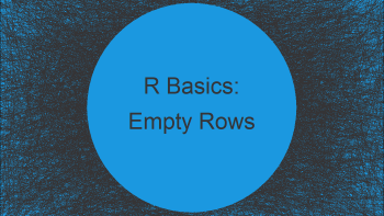 Remove Empty Rows of Data Frame in R (2 Examples)