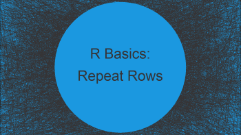 Repeat Rows of Data Frame N Times in R (2 Examples)