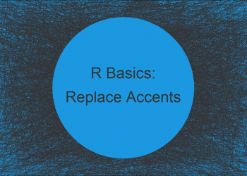 Replace Multiple Letters with Accents in R (Example)