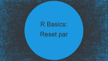 Reset par to Default Values in R (Example)
