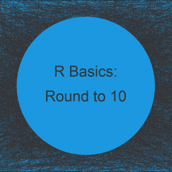 Round Up to Nearest 10 or 100 in R (Example)