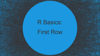 Select First Row of Each Group in Data Frame in R (Example)