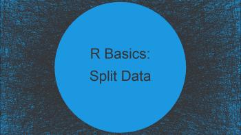 Split Data Frame in R (3 Examples) | Divide (Randomly) by Row & Column