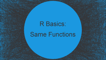 Two Functions with Same Name in Different Packages in R (Example)