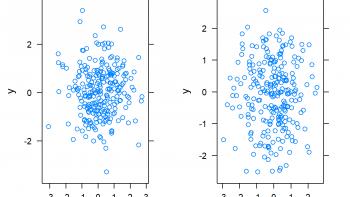 Draw Multiple lattice Plots in One Window in R (Example)
