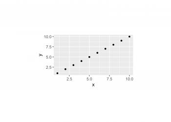 Set Area Margins of ggplot2 Plot in R (Example)