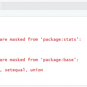 Disable Messages when Loading a Package in R (Example)