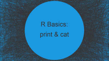 print & cat Functions in R (3 Examples)   Return Data to RStudio Console