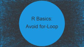 Avoid for-Loop in R? (Alternatives) | Using lapply Function Instead