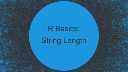 Count Number of Characters in String in R (2 Examples)