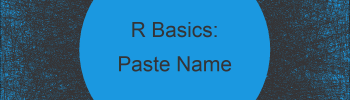 Create Variable Name Using paste() Function in R (Example)