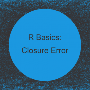 R Error: Object of Type Closure is not Subsettable in R (2 Examples)