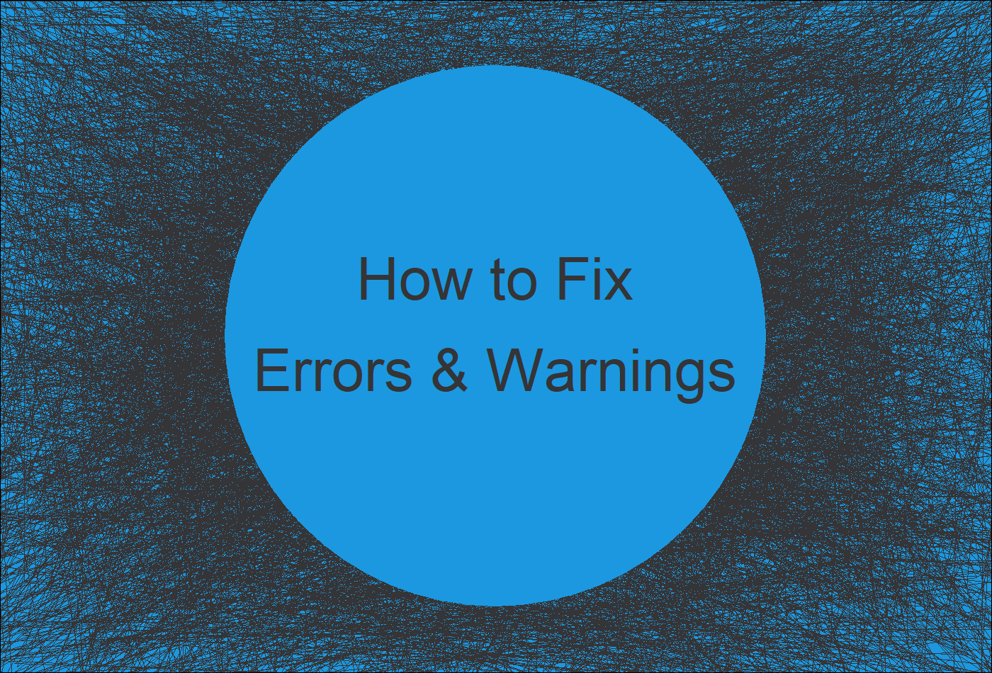 How to Solve Error and Warning Messages in R