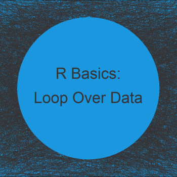 R Loop Through Data Frame Columns & Rows (4 Examples) | for-, while- & repeat-Loops