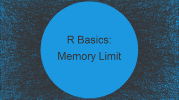 R Error: Cannot Allocate Vector of Size N GB (2 Examples) | How to Increase the Memory Limit