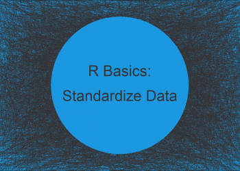 Standardize Data Frame Columns in R (2 Examples) | scale Function