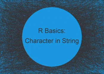 Test if Character is in String in R (2 Examples)