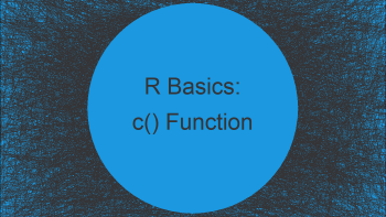 c() Function in R (2 Examples)