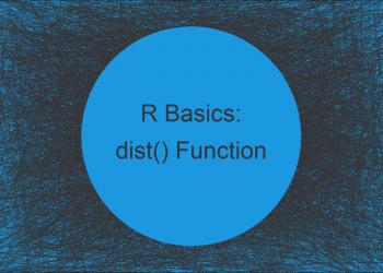 dist Function in R (4 Examples) | Compute Euclidean & Manhattan Distance