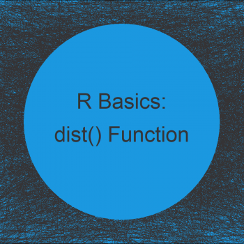 dist Function in R (4 Examples) | Compute Euclidean & Manhattan Distance