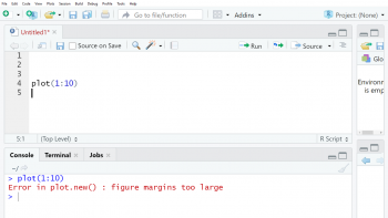 R How to Fix: Error in plot.new() : figure margins too large (3 Examples)