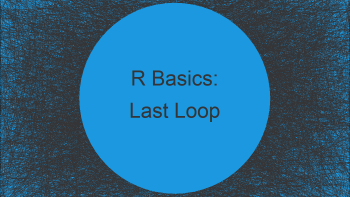 for-Loop Only Returns Last Value in R (2 Examples)