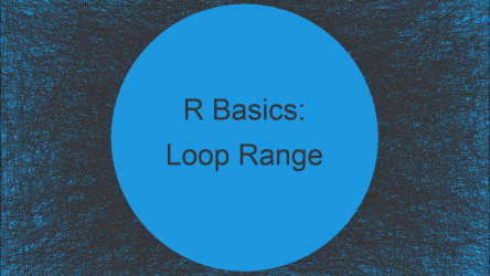 for-Loop with Range in R (Example)