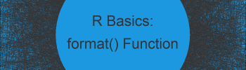 format Function in R (2 Examples)