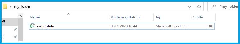 folder on computer