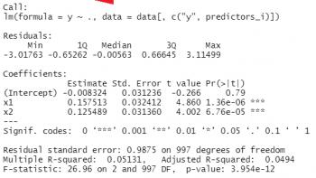 Run Multiple Regression Models in for-Loop in R (Example)